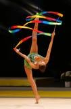 Gymnastique rythmique Grand prix à Kiev, Ukraine Image libre de droits