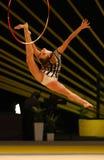 Gymnastique rythmique Grand prix à Kiev, Ukraine Photographie stock libre de droits