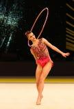 Gymnastique rythmique Grand prix à Kiev, Ukraine Photos libres de droits