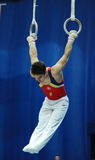 Gymnastique sportive Photo libre de droits