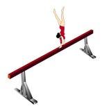 Gymnastisch Lizenzfreies Stockbild