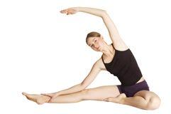 Gymnastische Übung Lizenzfreie Stockfotos