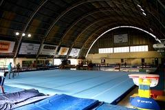 Gymnastische Halle Stockfoto