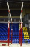Gymnastische parallele Stäbe Stockbild