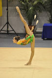 gymnastisk makarenko rythmic russia för alina Royaltyfri Foto