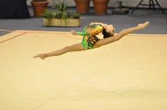 gymnastisk makarenko rythmic russia för alina Royaltyfria Bilder
