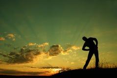 gymnastisk morgon Fotografering för Bildbyråer