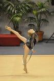 gymnastisk olga rythmic stryuchkova royaltyfri bild