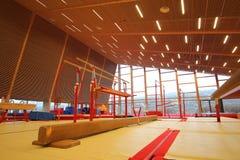 Gymnastisk utrustning Royaltyfria Foton