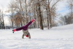 Gymnastisk yttersida fotografering för bildbyråer