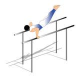 gymnastiskt Stock Illustrationer