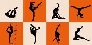 gymnastiskt Royaltyfri Fotografi