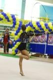 gymnastiskt rytmiskt arkivbilder