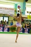 gymnastiskt rytmiskt arkivbild