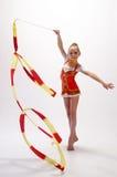 gymnastiskt rytmiskt arkivfoton