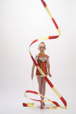 gymnastiskt rytmiskt royaltyfri fotografi
