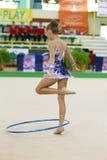 gymnastiskt rytmiskt Royaltyfri Bild