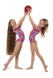 Gymnasts Royalty Free Stock Images