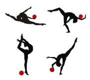 Gymnasts Royalty Free Stock Image