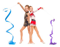 Gymnasts Royalty Free Stock Photos