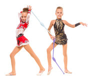 Gymnasts Royalty Free Stock Photography