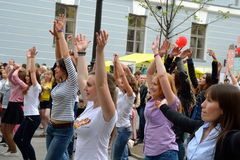 Gympa - charge suédoise de musique Photos libres de droits