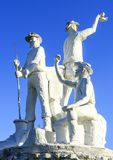 Gympie - estátua dos escavadores de ouro Fotografia de Stock