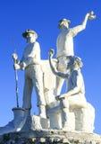 Gympie - Goldgräber-Statue Stockfotografie