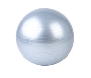 Gyms ball or yoga ball isolated. Fit and slimming your body by the gyms ball or yoga ball isolated Stock Images