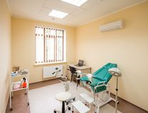 Gynecological cabinet Royalty Free Stock Photography