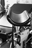 Gynecological chair in black and white. Gynecological chair in a hospital Royalty Free Stock Images