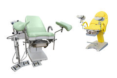 Gynecological chair Royalty Free Stock Images