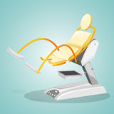 Gynecological chair for women's surveys. Royalty Free Stock Image