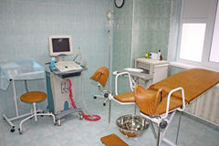 Gynecological equipment Royalty Free Stock Images