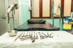 Gynecological equipment Royalty Free Stock Photos