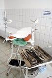Gynecologist's tools Stock Photo
