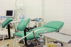Gynekologlokal arkivfoton
