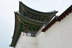 Gyongbokgung韩国人宫殿 库存图片
