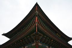 Gyongbokgungpaleis Stock Afbeeldingen