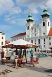 Gyor, Ουγγαρία Στοκ εικόνες με δικαίωμα ελεύθερης χρήσης