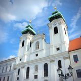 Gyor Cathedral, Hungary Stock Photography