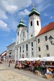 Gyor, Hongarije Royalty-vrije Stock Foto