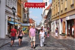 Gyor, Hongarije Stock Fotografie