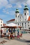 Gyor, Hongarije Royalty-vrije Stock Afbeeldingen