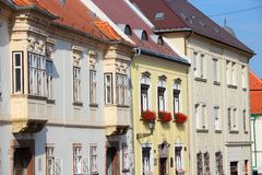 Gyor, Hungary Royalty Free Stock Photography