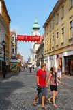 Hungary - Gyor Stock Photo