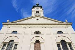 Gyor, Hungary. City in Western Transdanubia region. Roman catholic cathedral basilica Royalty Free Stock Images