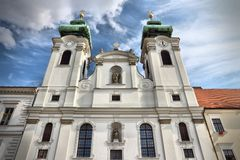 Gyor, Hungary Royalty Free Stock Photos