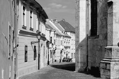 Gyor Old Town Royalty Free Stock Images