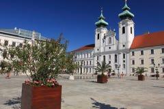 Gyor - Szechenyi Square Royalty Free Stock Images